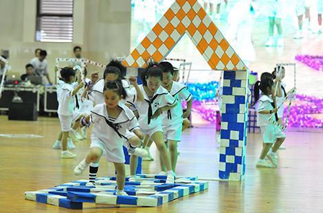 合肥高新区趣味幼儿园攻略民间体育游戏展演围城首届四丧尸图片