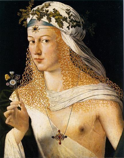 《一个青年男子的画像》 作者:乔瓦尼·鲁特里 创作于1535年 藏于墨尔本维多利亚国家画廊
