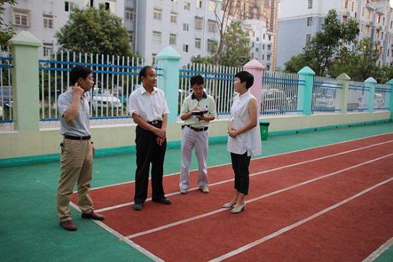 亳州市教育局陈亮局长带队督查市区学校开学工