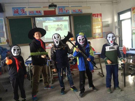 合肥市趣事芙蓉第二届英语节暨小学英语课外小学生儿童绘画小学校园多图片