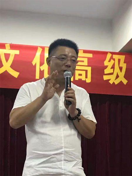 (COSE合肥传承中心主任徐伟先生致辞)