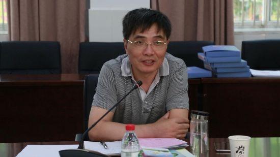 合肥市教科院副院长陈明杰讲话