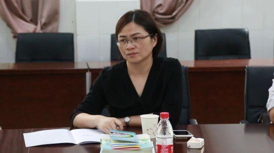 合肥经济技术开发区社会发展局副局长彭桂贞