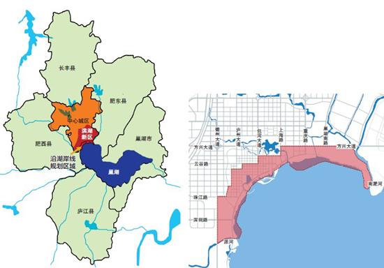 家乡的滨湖新区规划 令人向往