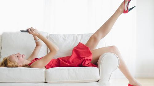 男人看女人性感标准:双腿修长