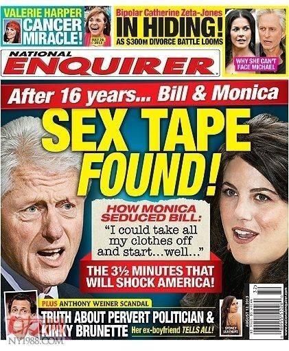 克林顿偷情录音曝光我可以先脱掉我的衣服