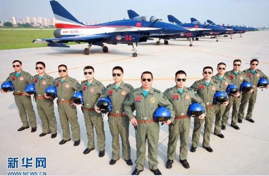 空军八一飞行表演队赴俄参加莫斯科航展