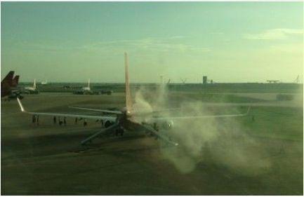 深航一飞北京航班起火12名乘客受伤