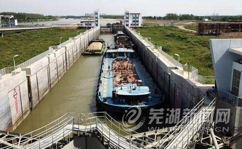 新船闸提升合裕线通航能力
