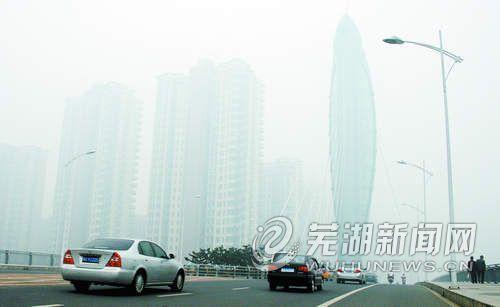 秋雾锁江城