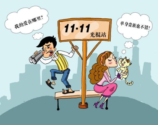 """人口普查称中国""""70后""""男女光棍比例超2:1"""