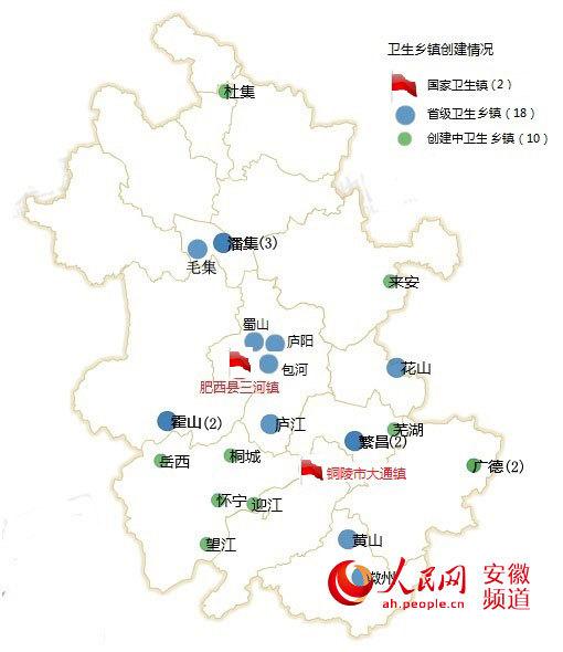 """安徽首次公布""""卫生地图"""" 皖南皖北差距明显"""