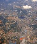 3万英尺上俯瞰武汉