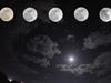 天宇上演半影月食