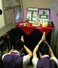 """空姐祈求航班""""正点"""""""